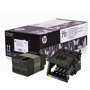 комплект для замены печатающей головки для HP 711 Designjet T520/T120 (C1Q10A)
